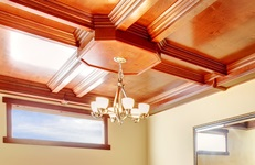 Ceiling - wood, small