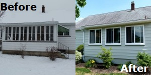 Porch Exterior - Before&After 150X300